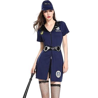 Erotic underwear-ZY Ropa Disfraz De Policía Sexy para Mujer Sexy ...