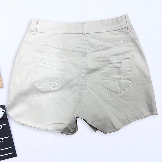 Cocoty-store 2019 Pantalones Cortos Rotos para Mujer Sexy ...