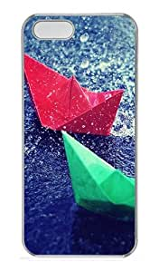 iPhone 5S Cases & Covers -Colourful Origami Custom PC Hard Case Cover for iPhone 5/5S ¨CTransparent