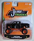 just trucks - JADA JUST TRUCKS 1:64 SCALE, BLACK 2008 FORD F-350 SUPER DUTY WAVE 14