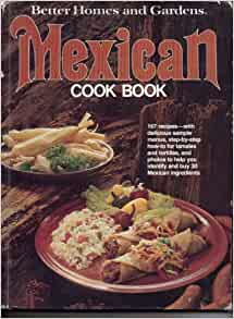 Better homes and gardens mexican cook book nancy morton Better homes gardens tv show recipes