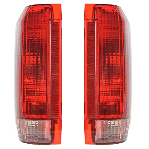 Taillights Taillamps Rear Brake Lights Pair Set for Ford F-Series - Series Tail Assembly Light