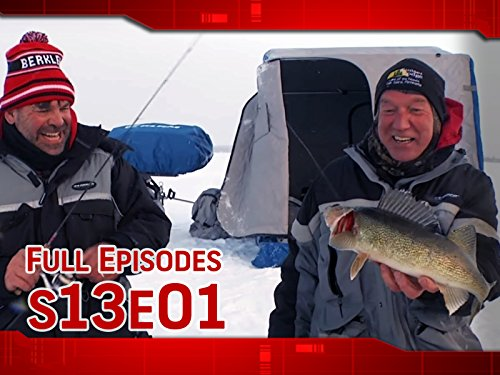 North by Northwest Angle Ice Walleyes (Ice Fishing Videos)