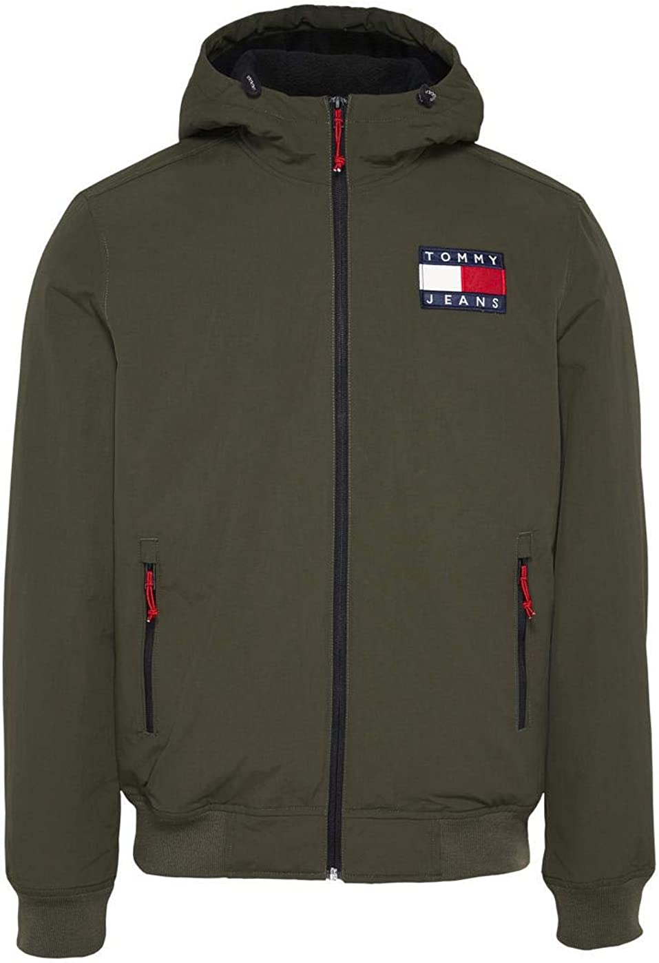 Chaqueta Tommy Jeans Padded Nylon Verde Hombre