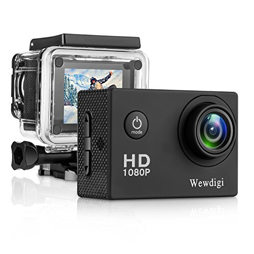Action Camera case Vafru 4K Waterproof Sport WiFi Camera with 170 Wide-Angle Lens Including Full Accessories Kits and Waterproof Case [並行輸入品]   B07CRVBBSY