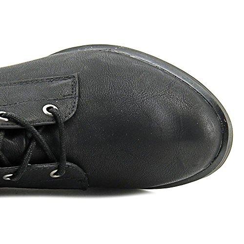 Rag Closed Black High Knee Boots Womens Lorah Fashion Toe American HqdCfwxPw