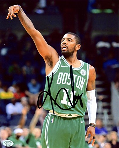 Kyrie Irving Boston Celtics Signed Autographed 8
