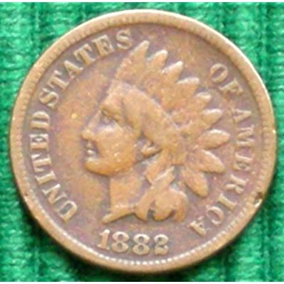 1882 Indian Head Cent: Collectible Coins