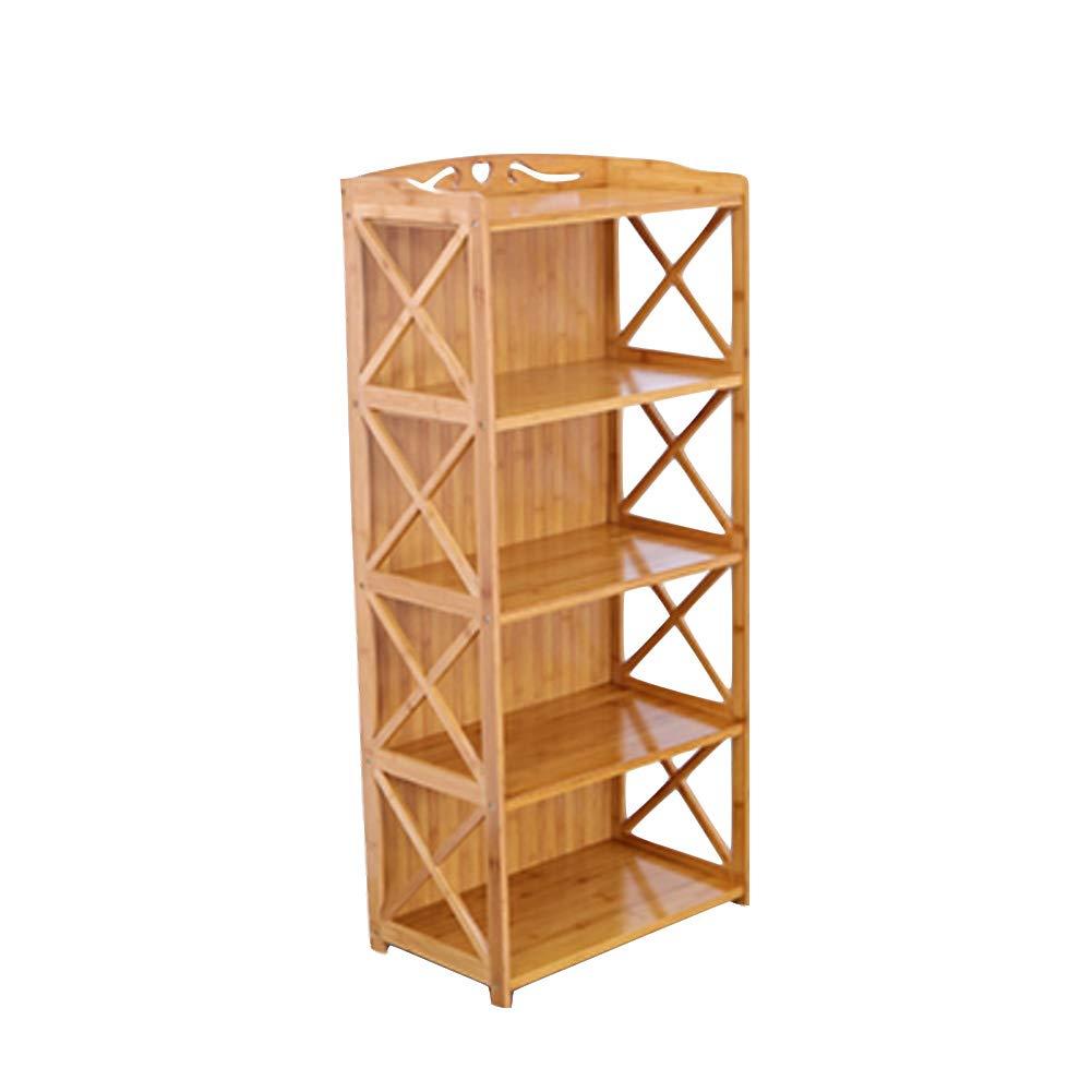 竹の本棚, 5 層本棚, オープン ディスプレイラック 収納棚 多層本棚オーガナイザー 容易な組み立て 事務所 デコレーション-a 70x29x127cm(28x11x50inch) B07RLJGKH2 A 70x29x127cm(28x11x50inch)