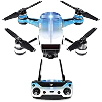 Skin for DJI Spark Mini Drone Combo - Cross| MightySkins Protective, Durable, and Unique Vinyl Decal wrap cover | Easy To Apply, Remove, and Change Styles | Made in the USA