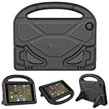 PC Hardware : All-New Amazon Fire HD 8 Tablet Case,Riaour Kids Shock Proof Protective Cover Case for Amazon Fire HD 8 Tablet (6th Generation,2016 Release / 7th Generation,2017 Release) (Black 0)