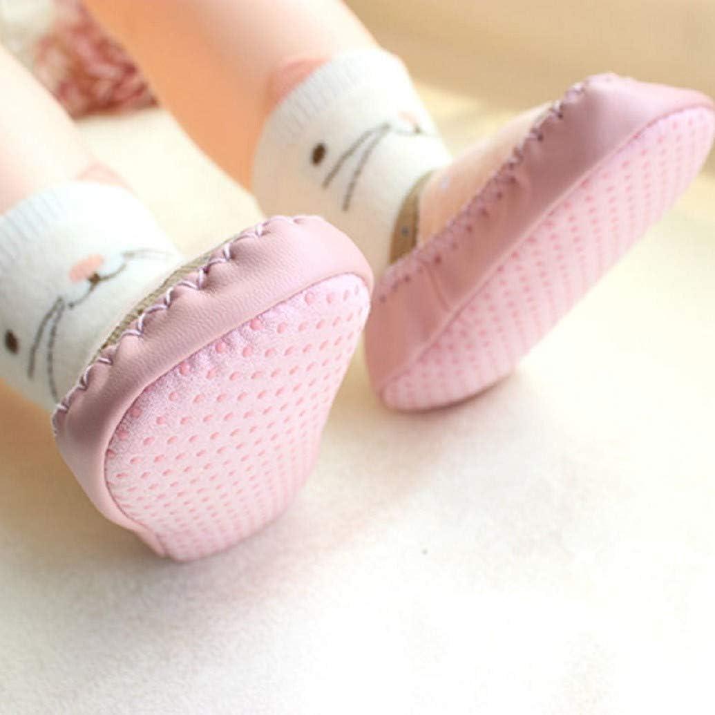 Calcetines de beb/é AMEIDD Calcetines de beb/é ni/ña ni/ño Calcetines de algod/ón Antideslizantes Medias Calientes para beb/és Botas de Zapatillas de beb/é Calcetines de Piso