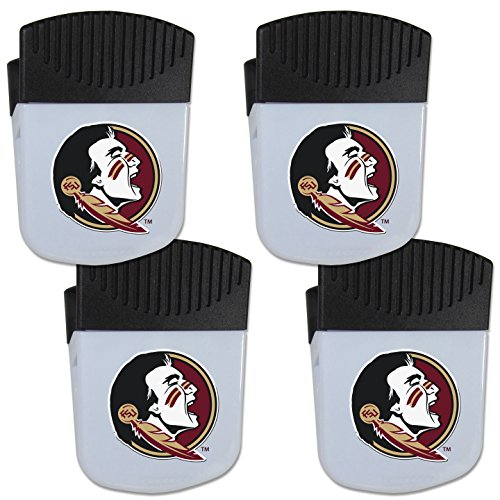 Siskiyou NCAA Florida State Seminoles Chip Clip Magnet with Bottle Opener, 4 - Chip University State