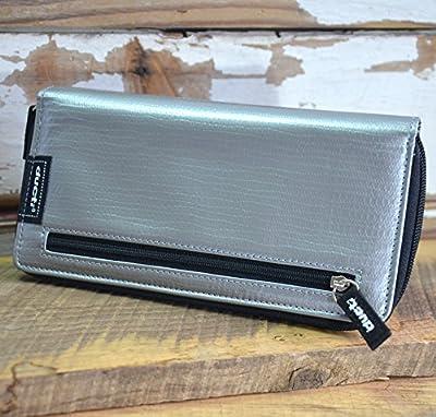 Ducti Triplett Silver Super Duct Tape Trifold Wallet (Hybrid)