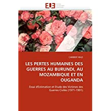 LES PERTES HUMAINES DES GUERRES AU BURUNDI  A