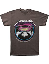 Master of Puppets Adult Charcoal T-Shirt