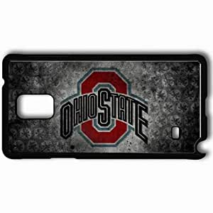 Personalized Samsung Note 4 Cell phone Case/Cover Skin 15178 OSU 1 1080p by Salvationalizm Black
