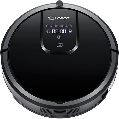CLOBOT MT810 Robotic Vacuum Cleaner Come with Both suction kit and rolling brush kit,UV Light Sterilization,Come with WATER TANK, support wet mop