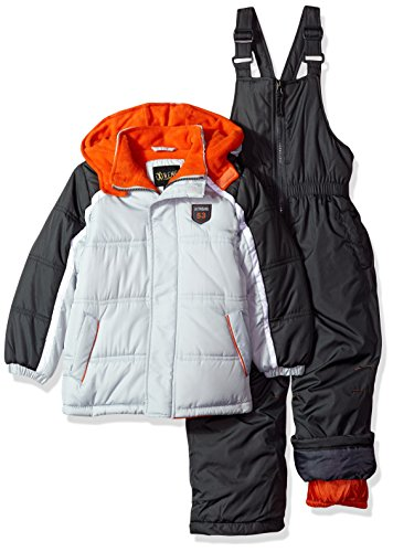 iXtreme Little Boys' Colorblock Snowsuit, Grey, 4