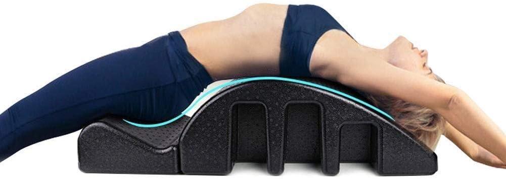 des douleurs cervicales patients souffrant de douleurs au dos aide /à am/éliorer la posture et ajus Masseur de colonne vert/ébrale Spine Corrector Pilates Arc Barrel Convient for les employ/és de bureau