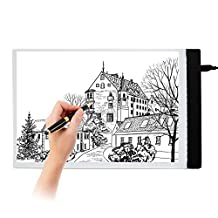 A4 LED Tracing Light Box Drawing Stencil Board Portable USB Power for Artists Drawing Sketching Animation