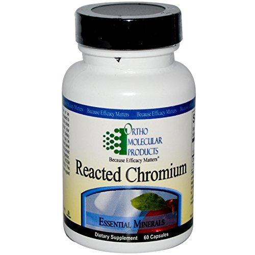 Ortho Molecular - Reacted Chromium - 60 Capsules