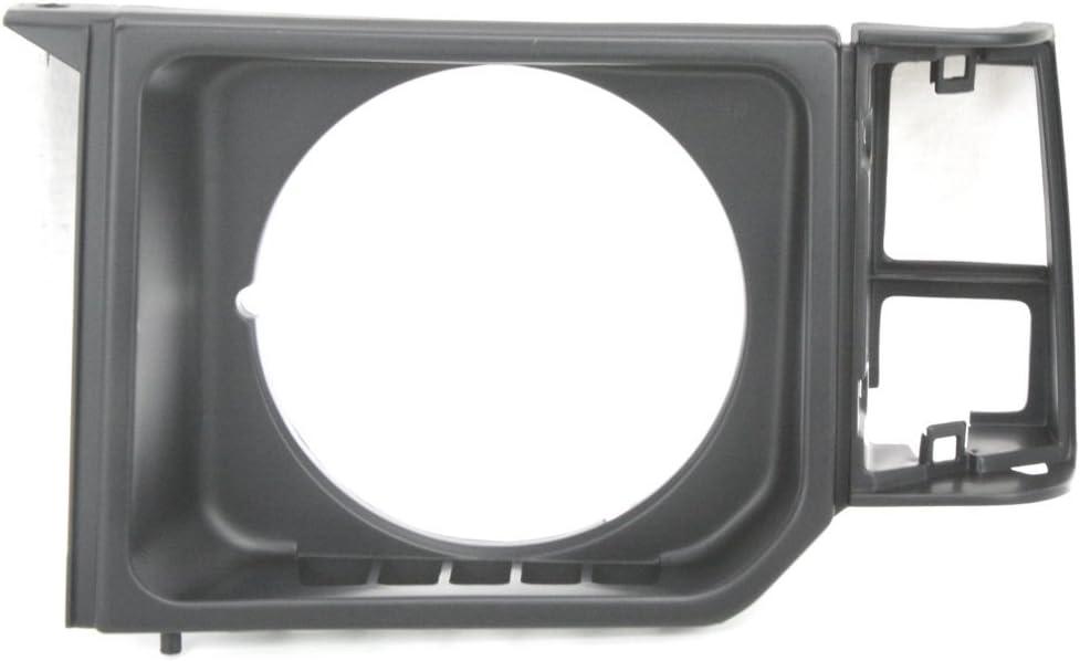 Headlight Door for Mitsubishi Montero 85-91 LH Black Left Side