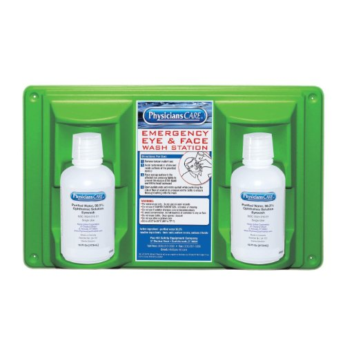 physicianscare-24-102-wall-mountable-eye-and-skin-flush-station-with-two-16-oz-bottles-16-1-2-l-x-3-