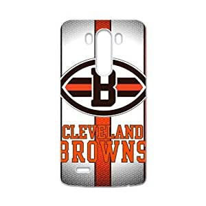 Hoomin Simple Cleveland Browns LG G3 Cell Phone Cases Cover Popular Gifts(Laster Technology)