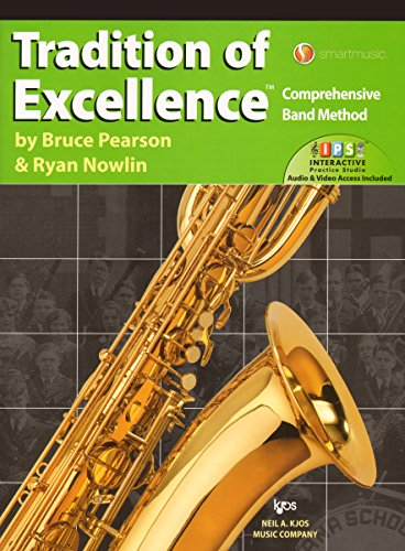W63XR - Tradition of Excellence Book 3 - Baritone Saxophone