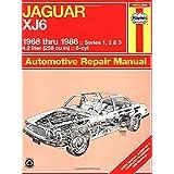 Jaguar XJ6 1968 thru 1986: Series 1, 2 & 3