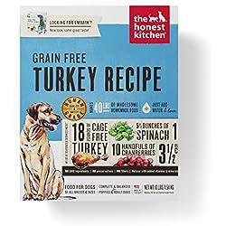 Honest Kitchen Human Grade Dehydrated Grain Free Turkey Dog Food 10 lb Box - Embark