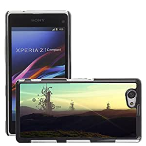 Super Stellar Slim PC Hard Case Cover Skin Armor Shell Protection // M00051470 creative morning aero monday // Sony Xperia Z1 COMPACT D5503