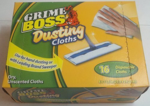 grime-boss-dusting-cloths-16-pack-dry-unscented-cloths-for-use-with-swiffer-generic-or-by-hand