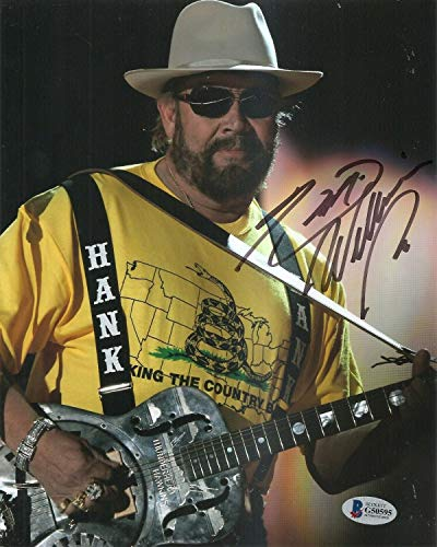 Hank Williams Jr. Country Music Autographed Signed Memorabilia 8x10 Photo Beckett Beckett Authentic from Sports Collectibles Online
