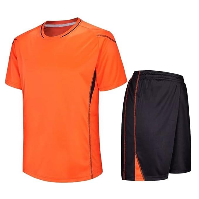 XFentech Niños y Adultos Hombre Ropa Deportiva de fútbol de Manga Corta   Amazon.es  Ropa y accesorios 9b04f2420ae93