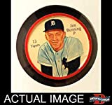 1962 Salada Coins # 13 Jim Bunning Detroit Tigers (Baseball Card) Dean's Cards 3 - VG Tigers