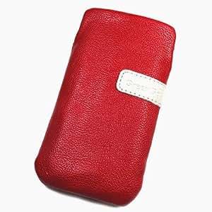 Funda de piel Para Play rojo para Acer Liquid Z110Duo