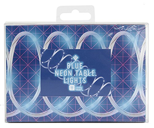 neon blue streamer - 5