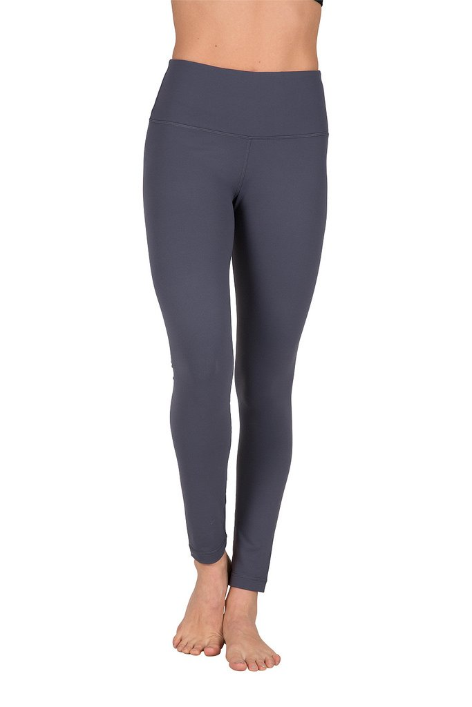 acc2fde04ecc80 Galleon - 90 Degree By Reflex High Waist Power Flex Legging – Tummy Control  - Eclipse Grey - Smal