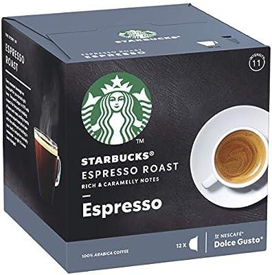 STARBUCKS Espresso Roast De Nescafe Dolce Gusto Cápsulas De Café ...