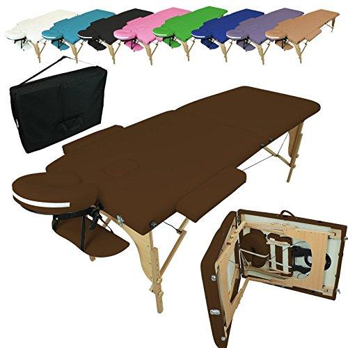 4 opinioni per Linxor ® Lettino da massaggio pieghevole 2 zone in legno con pannello Reiki +