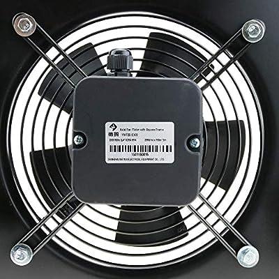 PrimeMatik - Extractor de Aire de Pared de 300 mm para ventilación ...