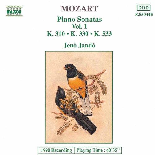 - Mozart: Piano Sonatas, Vol. 1 (Piano Sonatas Nos. 8, 10 And 15)