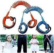 Pulseira Guia Para Criança Infantil Passeio Seguro Segurança Azul (D2485)