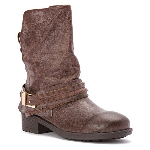 Mojo Moxy Womens Maniac Boots Brown