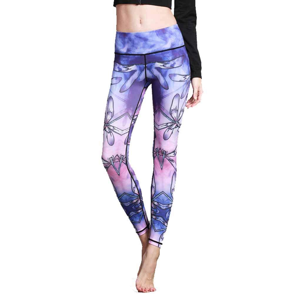 Gimitunus Leggings de Mujer Pantalones de Yoga Impresos ...