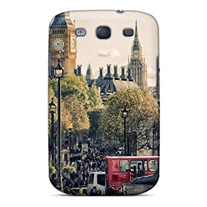 High Quality Shock Absorbing Case For Galaxy S3-trafalgar Square In London