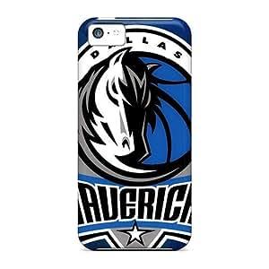 High Grade GAwilliam Flexible Tpu Case For Iphone 5c - Dallas Mavericks
