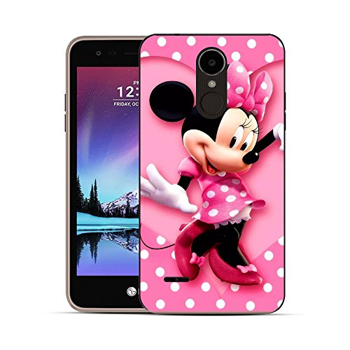 (GSPSTORE LG Stylo 3 case,Lovely Cartoon Mickey Mouse and Minnie Mouse Soft TPU Silicone Case Cover for LG Stylo 3/Stylo 3 Plus/LS777#03)